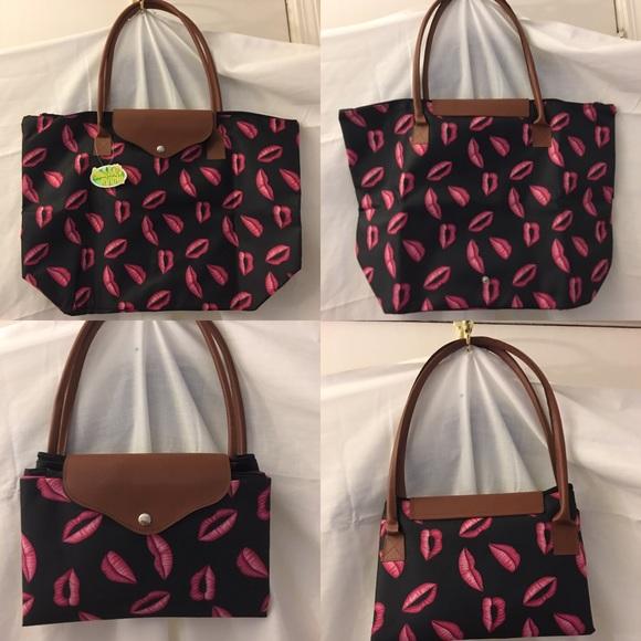 5f12053daabe6a Beach Mania Bags   Foldable Shoppers Tote   Poshmark